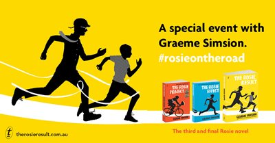 Dymocks Literary Club Event: Dinner with the exuberant Graeme Simsion