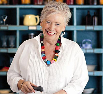 Maggie Beer, author. (Author categories: Local Australian, Celebrity Chef)