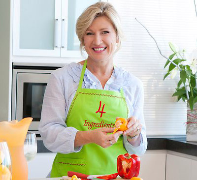 Kim McCosker, author. (Author categories: Local Australian, Celebrity Chef)